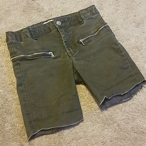 Zara Girls Cut-off Denim Shorts